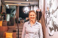 Antje Heimsoeth, Speakerin, Mercedes Me Store in Hamburg Keynote, Olympia, Mental Coach, Trainer, Sport, Motivation, Ruffle Blouse, Women, Fashion
