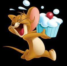 Cupcake Disney Kunst, Arte Disney, Disney Art, Tom And Jerry Kids, Tom Et Jerry, Cute Cartoon Wallpapers, Cartoon Pics, Cartoon Art, Baby Cartoon Drawing