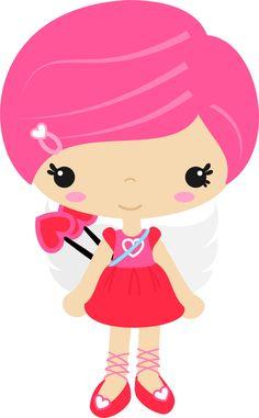 Casamento e namorados - cupid girl_2.png - Minus
