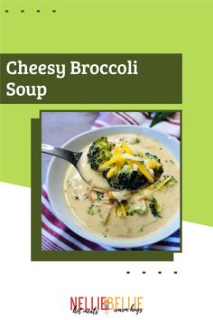 Fresh broccoli and creamy cheese pair up to create a perfectly delicious cozy Broccoli Cheese soup the whole family loves! #Cheesybroccolisoup #Dinner #warmdinner #Familywilllove Cheesy Broccoli Soup, Frozen Broccoli, Fresh Broccoli, Broccoli And Cheese, Slow Cooker Recipes, Soup Recipes, Cheese Pairings, Creamy Cheese, Homemade Soup