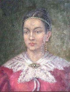 Анастасия Давидовна Орбелиани - Гагарина. 2-я жена кн. Александра Гагарина, бывшего адъютанта графа Воронцова