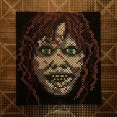 Regan - The Exorcist perler beads by solomontomer