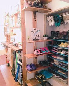 靴収納は工夫次第でおしゃれで見やすくなる♪靴収納の実例をご紹介 ... ディアウォールなら高さも出せる