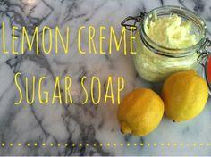 Lemon Creme Sugar Soap Recipe