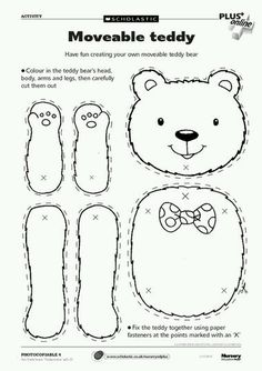 """Mother's Day craft """"I love you beary much"""""""