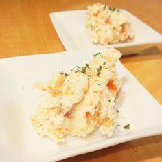 ポテサラにカリカリに焼いた鶏皮を刻んで入れるのが好き。 - 35件のもぐもぐ - ポテトサラダ by ekianti