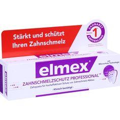 ELMEX Zahnschmelzschutz PROFESSIONAL Zahnpasta:   Packungsinhalt: 75 ml Zahnpasta PZN: 11072327 Hersteller: CP GABA GmbH Preis: 4,55 EUR…