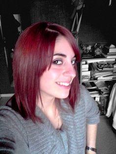 coloris violine rouge - Coloration Rouge Violine