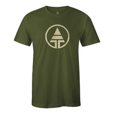 Tribe Logo T-Shirt Hemp/Organic Cotton - Forest Green