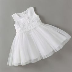 baby girl party dresses - Baby Christening/party Dress - Decoration: Pattern - Sleeve Style: Regular - Sleeve Length(cm): Sleeveless - Actual Images: Yes - Material: Polyester,Co Baby Girl Party Dresses, Birthday Dresses, Little Girl Dresses, Baby Dress, Flower Girl Dresses, Godmother Dress, Toddler Fashion, Kids Fashion, Baby Girl Baptism