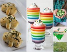I thought I would share some of the great St. Patrick's Day ideas I have pinned on Pinterest! Everything from recipes, desserts, decor and drinks – great for kids and adults!