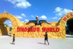 Dinosaur World, Cave City, Kentucky - Review - Just Brennon