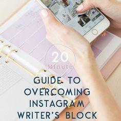 """No idea what to say on Instagram? Been staring at the same photo for 10+ minutes now? . I've got just the thing: Your 20 Minute Guide to Overcoming Instagram Writer's Block.  Follow the link in my profile to """"FREE Social Media Resource Guide"""" to download this 10+ page e-book packed with helpful tips and caption ideas.  Have you downloaded it yet? What did you think? . #thestrategystudio #ladystartup #womeninbusiness #smallbusinesslife #smallbusinessconsultant #smallbusinesscoach… Small Business Consulting, Small Business Resources, Writer's Block, Helpful Tips, Caption, Profile, Social Media, Marketing, Sayings"""