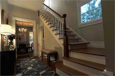 Interior de uma casa americana Arquitetura americana Casas americanas Interiores