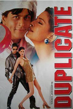 Duplicate (1998) Hindi Movie Online in SD - Einthusan Shah Rukh Khan ,Juhi Chawla ,Sonali Bendre ,Farida Jalal Directed by Mahesh Bhatt Music by Songs:Anu Malik Background Score: Louis Banks 1998  ENGLISH SUBTITLE