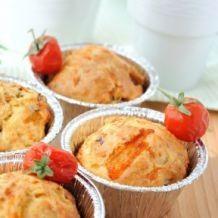 Savoury Muffins - Mediterranean gluten free muffins
