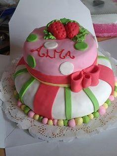 Torta Frutillitas para Alma!