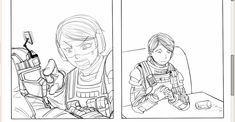 Rainbow 6 Seige, Tom Clancy's Rainbow Six, Notes, Game, Drawings, Report Cards, Notebook, Gaming, Sketches