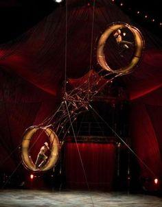Cirque du Soleil Kooza- Wheel of Death