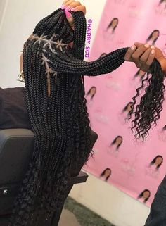 Here are 10 pretty triangle braids hairstyles you need to see; from Stay Glam One of the hottest braided looks are triangle braids These funky braids are a different take on the much loved box braids Instead of boxes, your hair will be sectioned in - b Blonde Box Braids, Black Girl Braids, Braids For Black Hair, Braids For Black Women Box, Curly Braids, Braids For Black Women Cornrows, Cornrow Ponytail, Medium Hair Braids, Big Box Braids