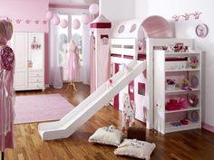 Etagenbett Mädchen : 18 besten hochbett mit rutsche bilder auf pinterest dividing rooms