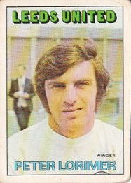 PETER LORIMER 1972-73 LEEDS UNITED Leeds United, The Unit, Football Soccer