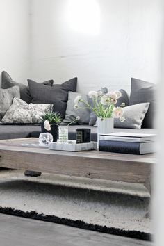 like the low-set, sturdy coffee table everything feels comfy