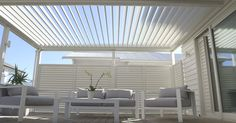 Louvretec's extensive product range is a one stop shop for Opening Roofs, Sun Louvre and Shutter systems, gates, fences and screens.  http://www.homeinspiration.co.nz/building/roofs/2015/09/29/louvretec-outdoor-rooms/