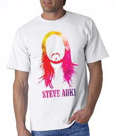 #TshirtTuesday - The Tomorrowland Line Up - Steve Aoki