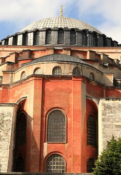 Hagia Sophia from the side, Istanbul