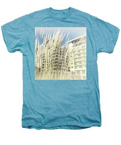 Men's Premium T-Shirt featuring the photograph Imperial Wharf Buildings by Judi Saunders. Many styles, sizes and colors available.