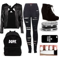A fashion look from August 2015 by bubbleslovelena featuring Boohoo, 2LUV, Rampage, GUESS, Casetify and first_thing