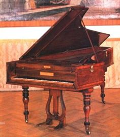 Beethoven's Broadwood Piano - History/development of the pianoforte