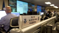 PHOTO: Analyists at the National Cybersecurity & Communications Integration Center (NCCIC) at their headquarters in Arlington, VA. - ABC New...