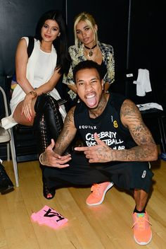 Celebs Throw Down On The Basketball Court With L.A. Gear -- Tyga (And Kylie Jenner), Sevyn Streeter, The Game, Karrueche & More!