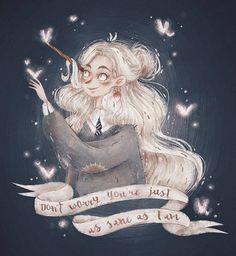 Harry Potter - Luna Lovegood By Mori Raito Fanart Harry Potter, Harry Potter Sketch, Fans D'harry Potter, Harry Potter Illustrations, Art Et Illustration, Amazing Drawings, Book Girl, Ravenclaw, Animation