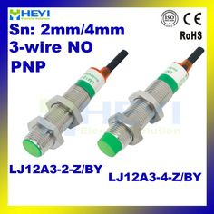 PNP NO LJ12A3-4-Z/BY 3-wire inductive proximity switch DC 6-36V in metal housing dia 12mm,sensing 4mm