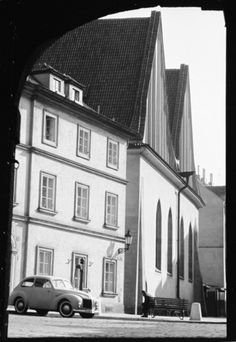 Betlémská kaple (3201), Praha, září 1964 Praha, Czech Republic, Vintage Images, Wanderlust, Black And White, Retro, Historia, Vintage Pictures, Black N White