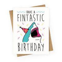 Have A Fintastic Birthday Greetingcard