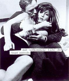 Astrid Klein, Untitled (daß vollkommene Liebe …), 1979