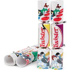 CHRISTMAS Box of six Twister Christmas crackers £19.95