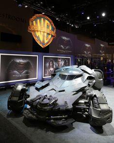 Get a Close Look at the Batman v Superman: Dawn of Justice Batmobile (UPDATED!)   DC Comics