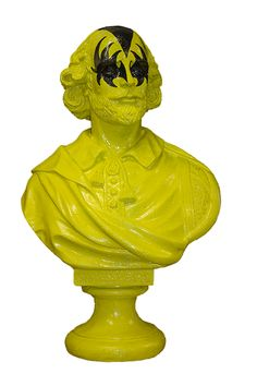 KISS Shakespeare Bust by Jimmie Martin (2011)