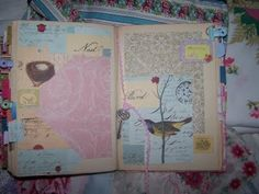 altered book journal | Altered book to a journal | Busy Hands