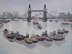 """Brilliant London art by """"Bow boy"""" Alfred Daniels"""