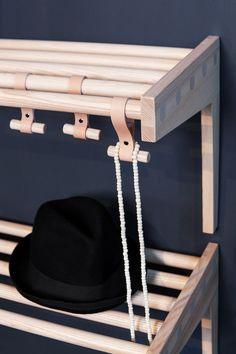 Shelf from Granit, Smålands Skinnmanufaktur & Formbruket