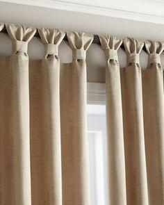 Decoração de cortinas