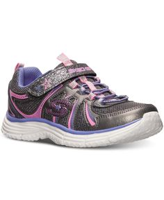 e7bb09d42e1f Skechers Little Girls  Ecstatix Wunderspark Athletic Sneakers from Finish  Line   Reviews - Finish Line Athletic Shoes - Kids - Macy s