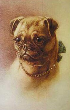 Antique Pug Picture decoupaged on wood. A must for any Pug fan. Size is 8.5X11inches. Matte finish. Ready to hang on any wall.