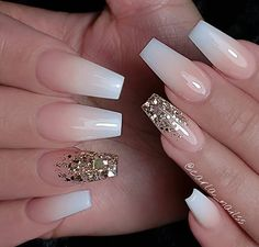 Light pink gel coffin nails design, Acrylic Coffin nails long, Glitter pink coffin nails design summer, Sparkle pink coffin nails with rhinestones, Mauve Nails, Pink Acrylic Nails, Pink Nails, Glitter Nails, Gel Nails, White Nails, Gold Glitter, White Acrylic Nails With Glitter, Color Nails
